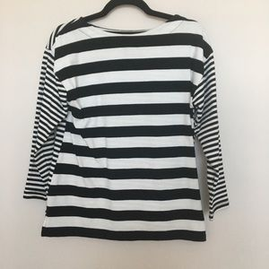 Banana Republic Double Sided Striped Top